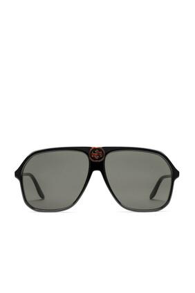 نظارة شمسية أفياتور بإطار أسيتات