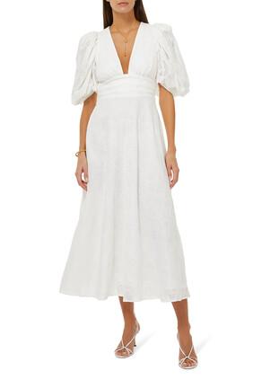 فستان هاملتون متوسط الطول