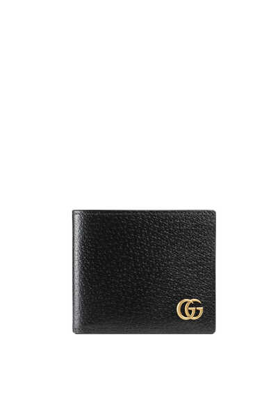 محفظة مارمونت بشعار حرفي GG بتصميم ثنائي الطي