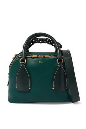 حقيبة يد داريا جلد متوسطة الحجم