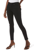 MIDRISE SKINNY BLACK BISTRETCH