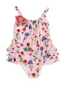 لباس سباحة بنقشة زهور