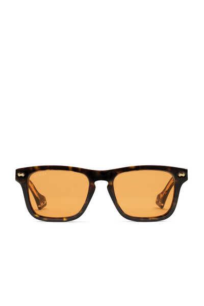 نظارة شمسية مستطيلة بإطار أسيتات
