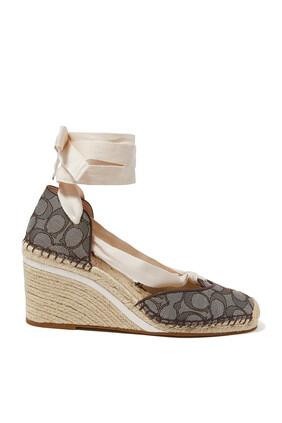 حذاء كارمن بكعب ويدج جاكار