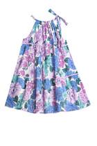 فستان بوبي بحمالة حول الرقبة