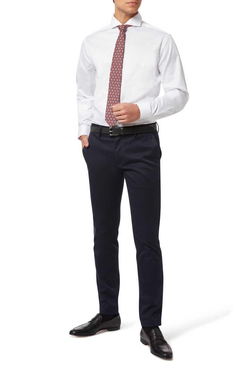 ربطة عنق بوجهين ونقشة بيزلي image number 1