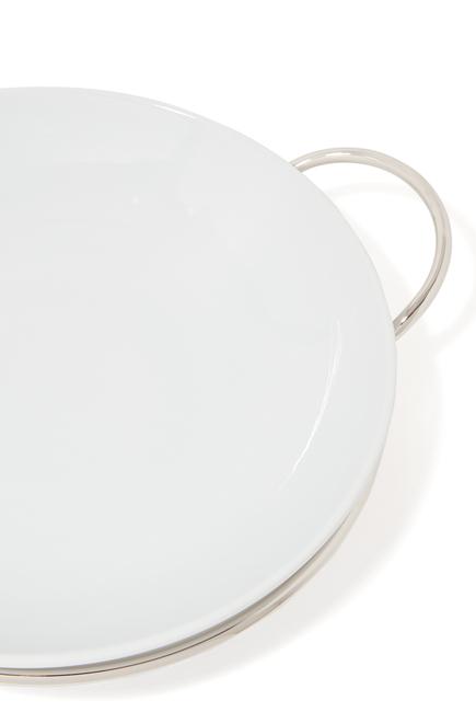 طبق سباغيتي بيناريو مستدير