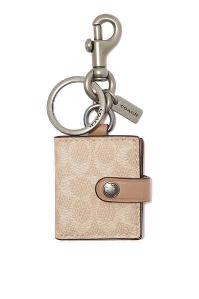حلية حقيبة قنب بشعار الماركة مع حافظة للصور