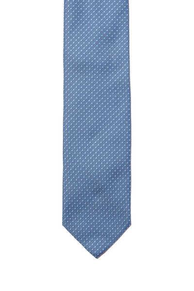 ربطة عنق حرير منقطة