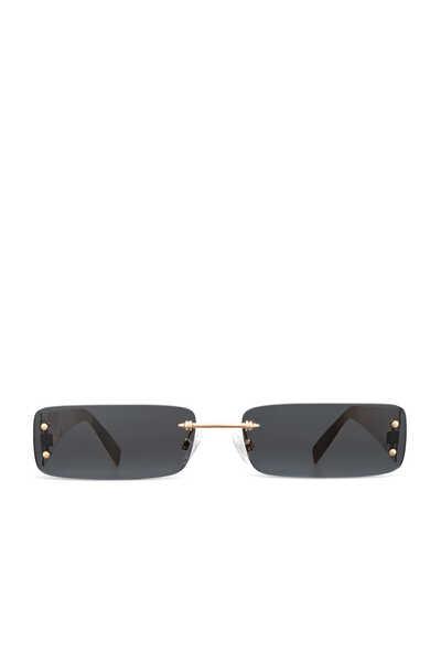 نظارة شمسية هيت سوداء بنقشة سعف النخيل