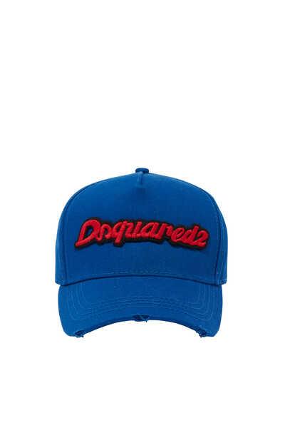 كاب بيسبول بشعار الماركة وكلمة DSQ