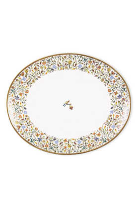 طبق ماجيستك بيضاوي بحجم متوسط