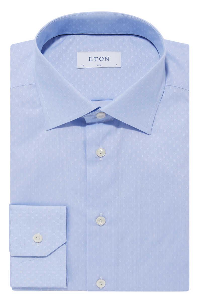 قميص تويل بنقشة زهور image number 1