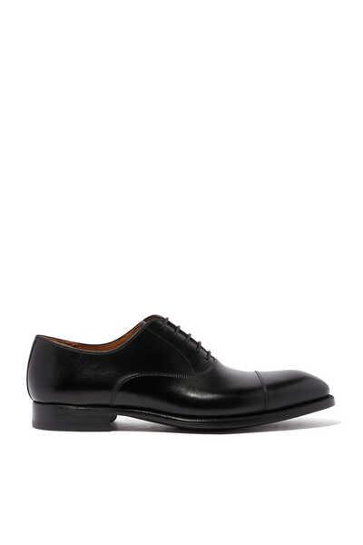 حذاء أكسفورد جلد لامع