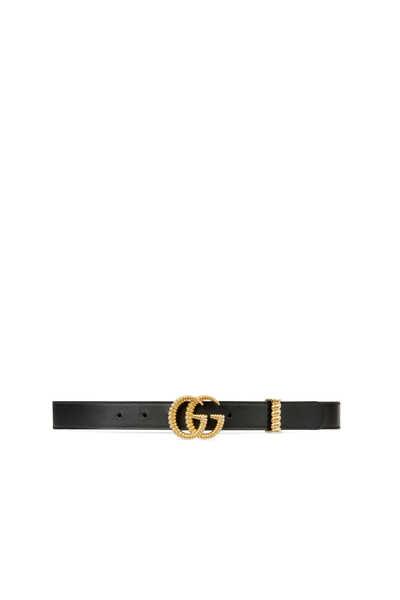 حزام تورشون جلد بشعار حرفي G