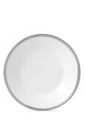 طبق فنجان شاي فيرا وانغ ليس بلون بلاتيني 14 سم