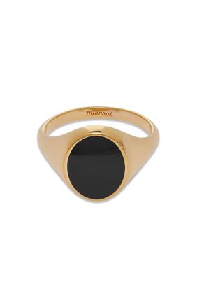 خاتم هيريتيدج مطلي بالذهب