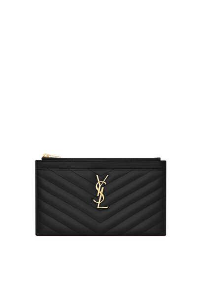 حقيبة بيل صغيرة جلد غران دي بودريه بشعار الماركة