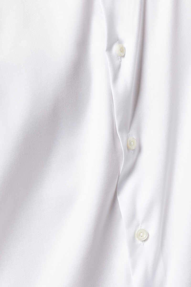 قميص بحافة مزينة بنقشة زهور image number 4