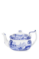 إبريق شاي سبود بطبعة الريف الإيطالي أزرق