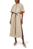 فستان رومي متوسط الطول