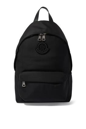 حقيبة ظهر بيريك مزينة بشعار الماركة