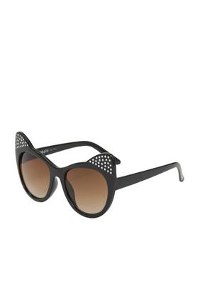 نظارة شمسية شيرلين بتصميم عين القطة