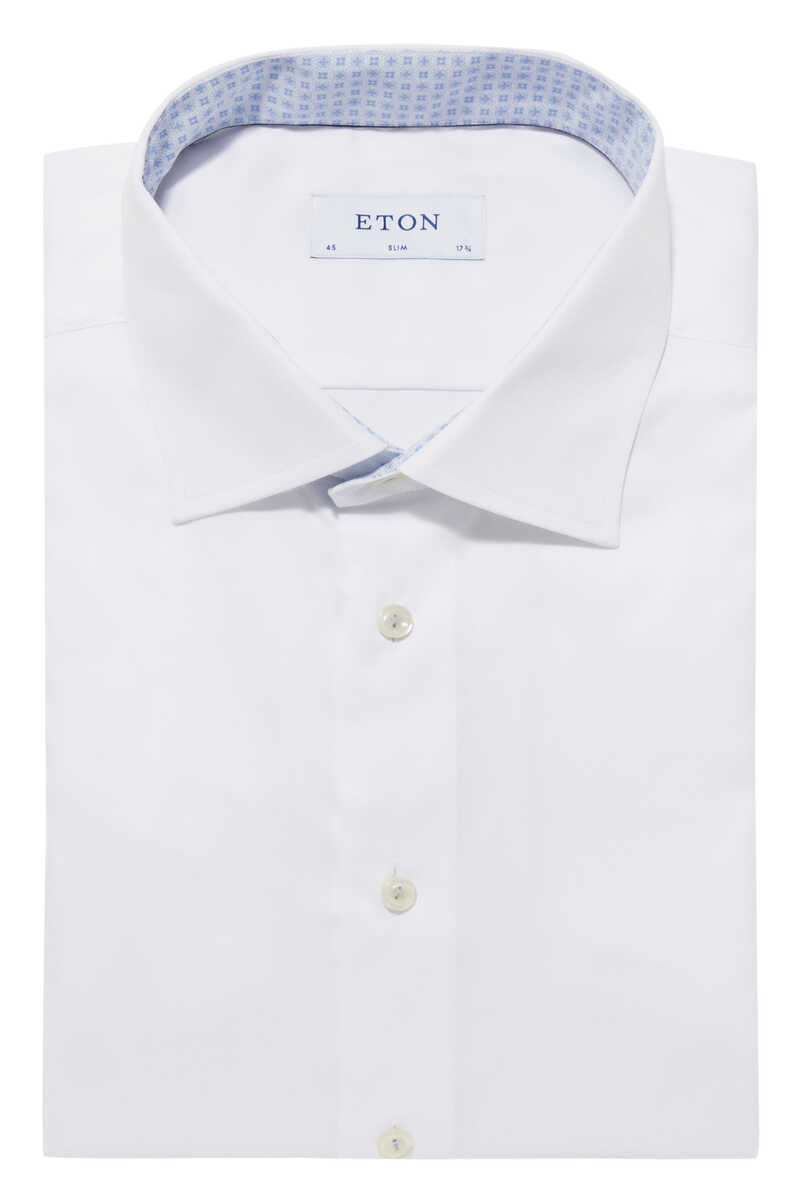 قميص بوبلين بنقشة زخارف image number 5