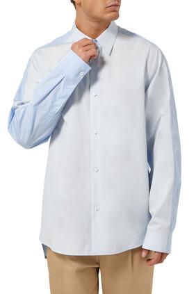 قميص كولاج بصف أزرار