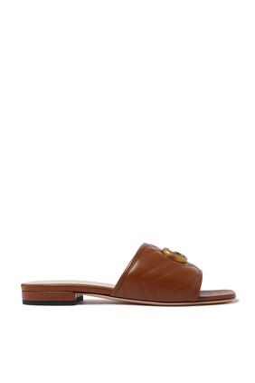 حذاء مفتوح جولي جلد