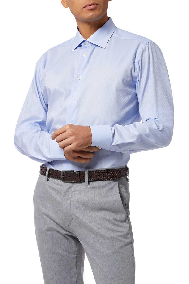 قميص تويل بنقشة زهور image number 5