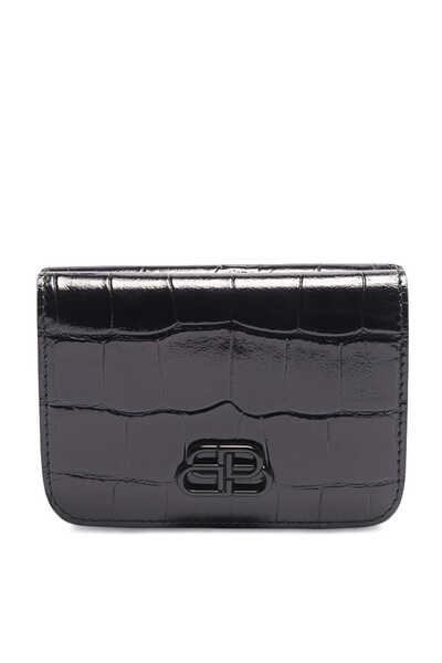 محفظة ميني جلد بشعار BB