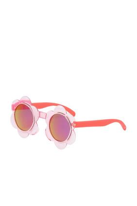 نظارة شمسية بتصميم زهرة دوار الشمس