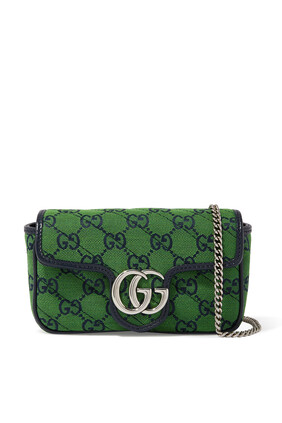 حقيبة مارمونت سوبر ميني متعددة الألوان بشعار GG