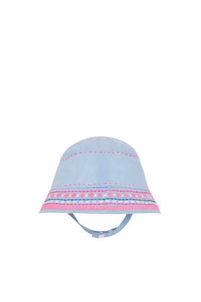 قبعة شمس مطرزة