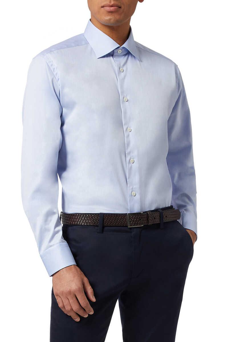قميص بحواف بنقشة زخارف image number 1