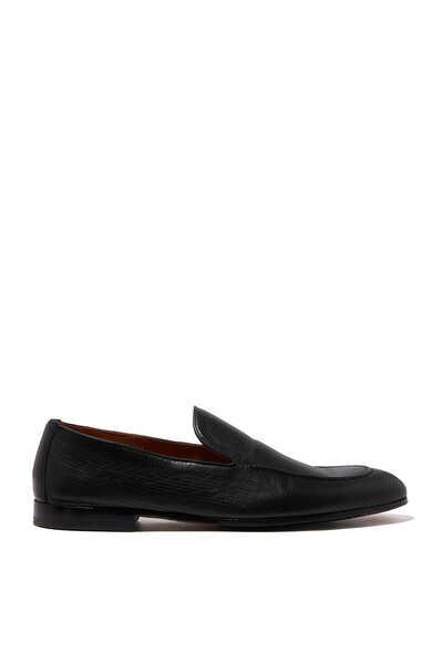 حذاء بانامي جلد سهل الارتداء