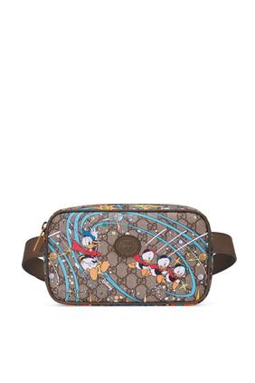 حقيبة خصر بطبعة بطبعة دونالد دك ديزني × غوتشي