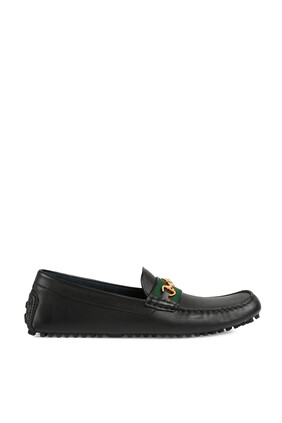 حذاء درايفر سهل الارتداء بشريط ويب