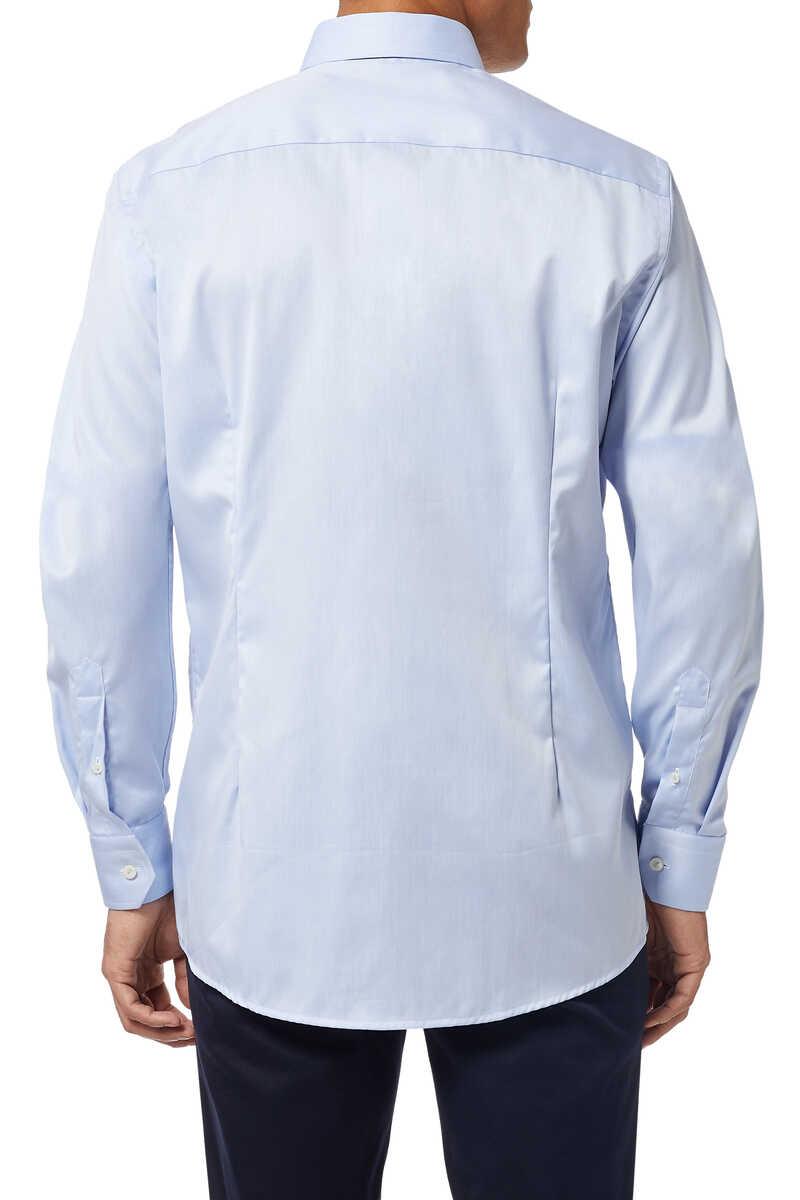 قميص بحواف بنقشة زخارف image number 3