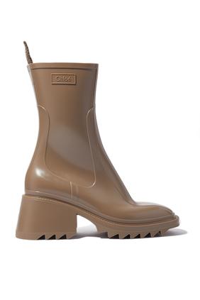 حذاء بوت بيتي للمطر كلوريد متعدد الفينيل