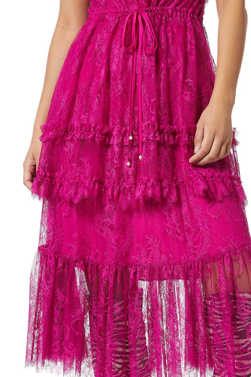 فستان ماغدلينا بطبقات image number 4