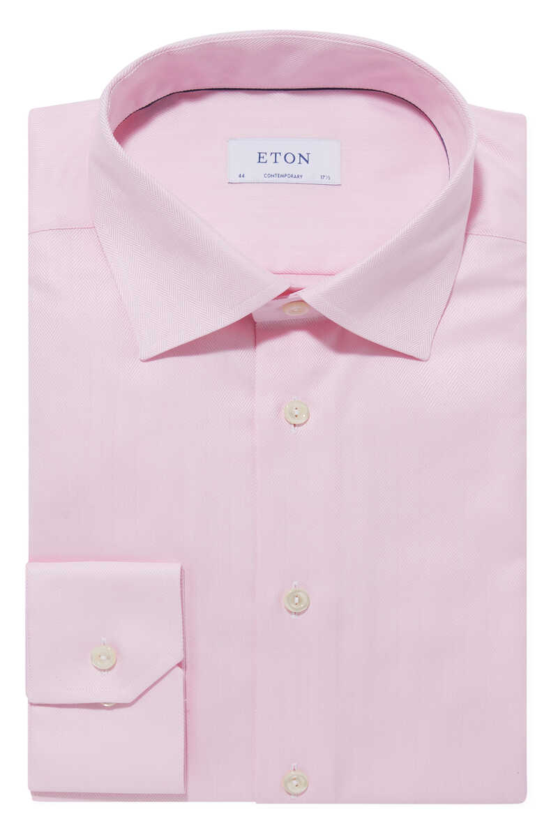 قميص بنقشة هيرنغ بون image number 1