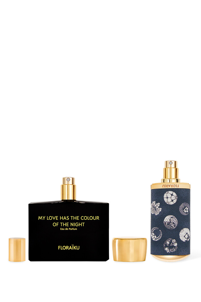 Floraiku Refill My Love Has The Color Of The Night EDP 60ml image number 3