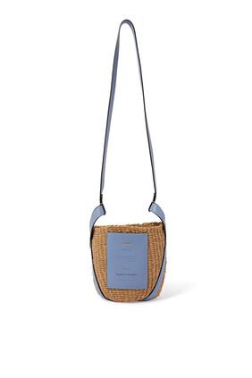 حقيبة كلوي صغيرة بتصميم سلة