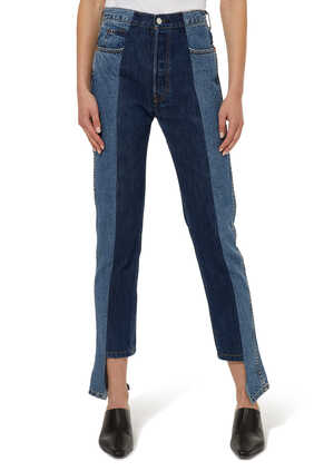 بنطال جينز دينم ذا توين بقصة ساق مستقيمة