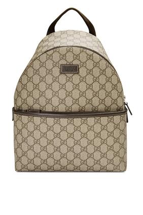 حقيبة ظهر قنب سوبريم بنقشة شعار GG