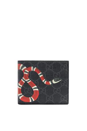 محفظة سوبريم بحرفي GG وطبعة أفعى