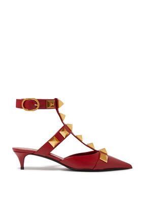 حذاء كلاسيك فالنتينو غارافاني رومان بحلي هرمية