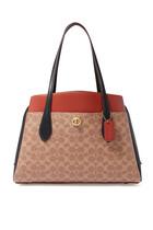 حقيبة لورا قنب بشعار الماركة